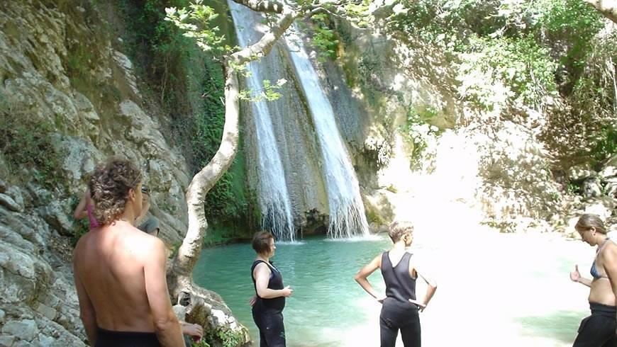 River trekking στη Νέδα